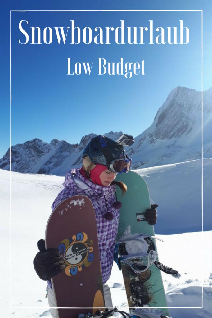 Snowboardurlaub Low Budget
