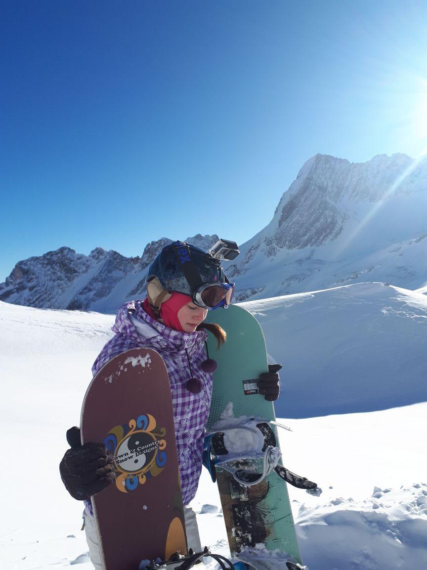 Snowboarder_Zugspitze