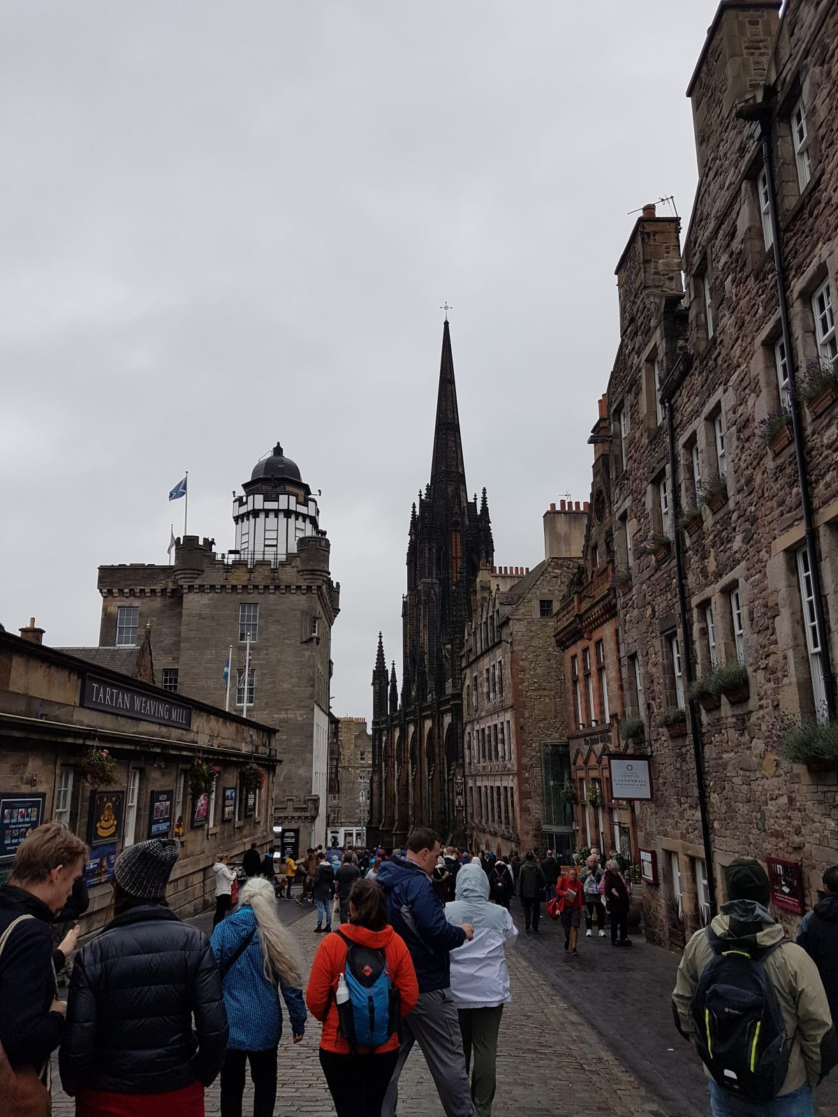 Royal Mile oben