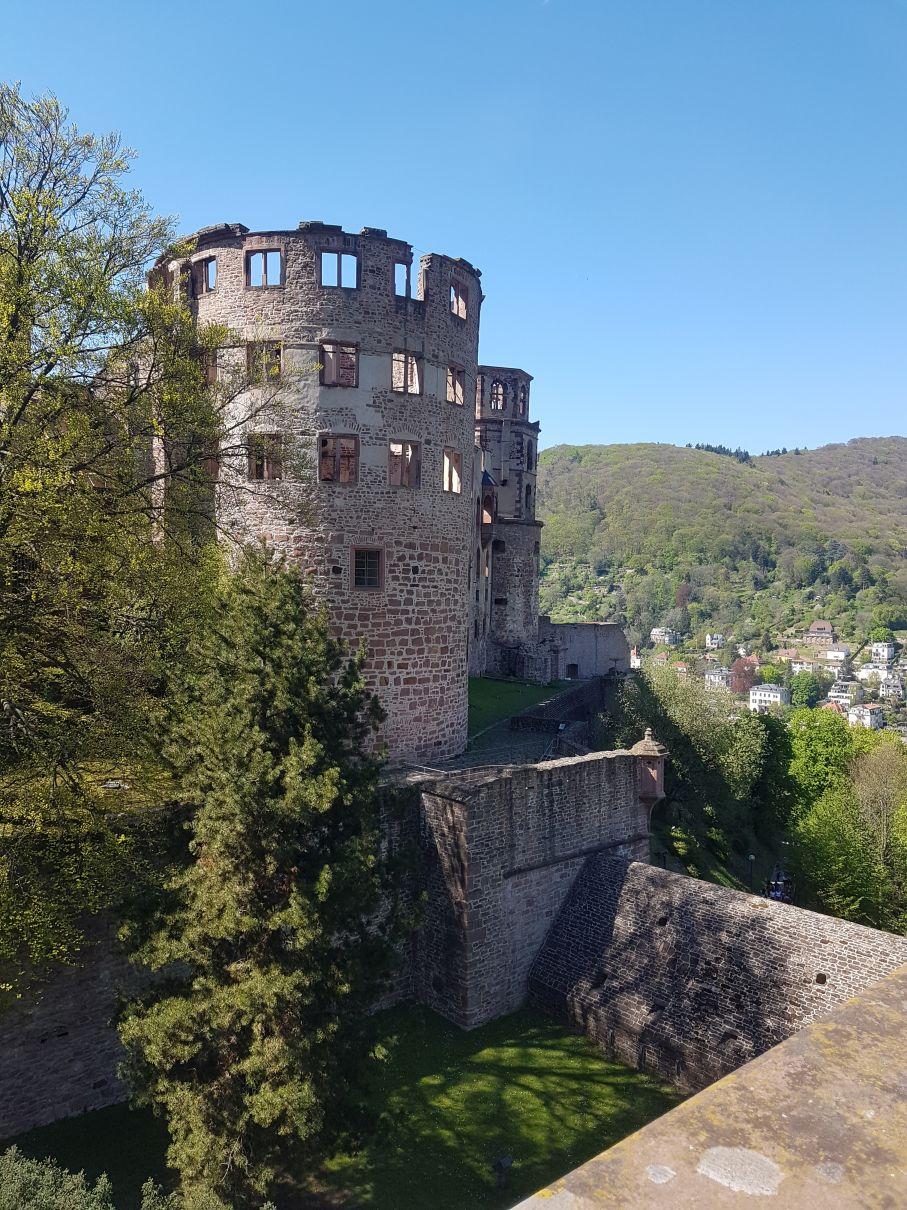 Schloss Heidelberg Turm