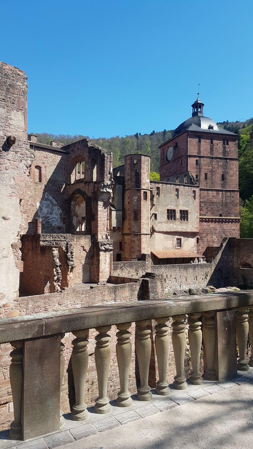 Schloss Heidelberg Ruinen
