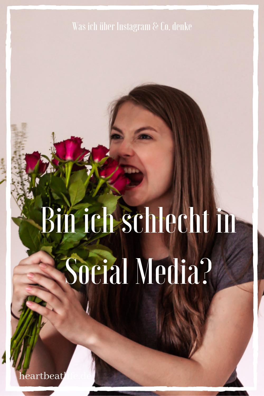 Schlecht in Social Media