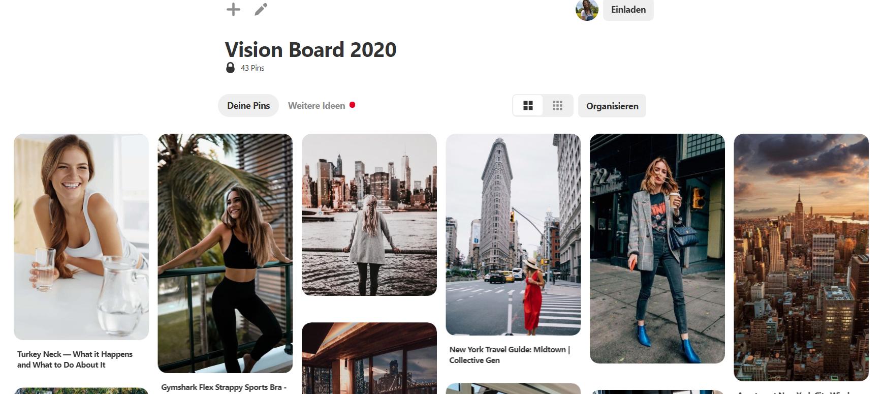 Neujahrsvorsätze_umsetzen_Vision_Board_Pinterest